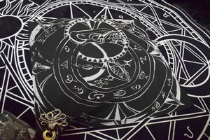 【Fairy✴︎Circus】 Wheel of fortune bandanna【PENTACLES】