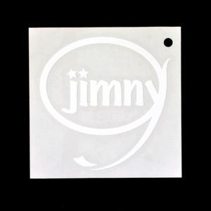 Jimny ステッカー(ホワイト)