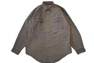 USED パタゴニア キャンバスワークシャツ L  patagonia  90s グレー