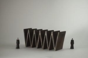 (034)wood figure-mini &structure 箱入 019