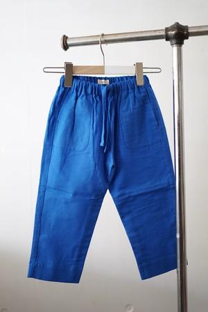 jonnlynx for tiny people / gauze pants (blue)