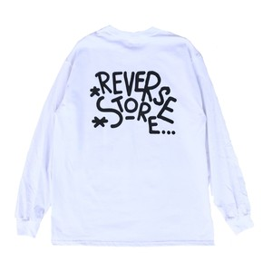 Reverse L/S - White - Texas Orange -Black