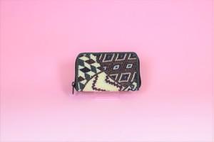 ビーズ刺繍 財布(#99 マルチ紫)