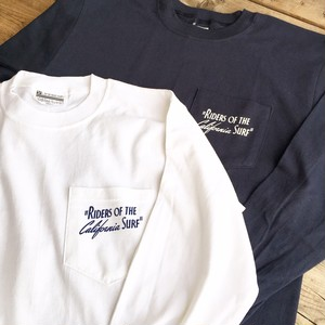 """Surge Coast Store """"RIDERS OF THE CALIFORNIA SURF"""" L/S Tee"""