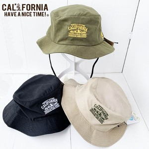 Packable Bucket Hut 【California have a nice time!】3colors