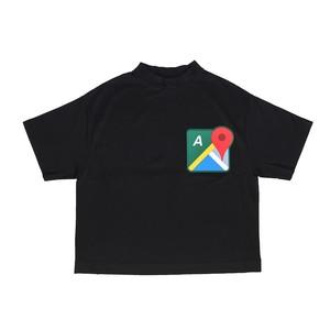 MAP T-SHIRTS / BLACK