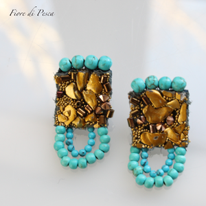 Beatrice Pierce(Earing) turquoise L