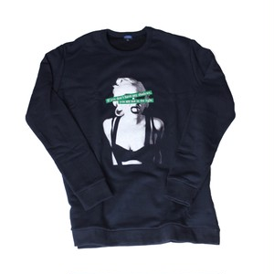premium logo sweat / navy