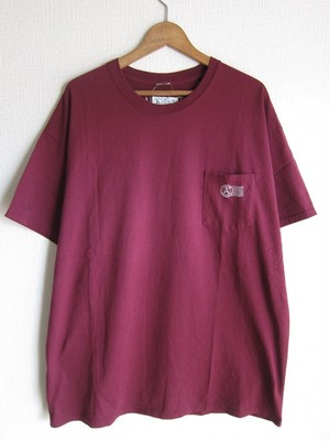 A WAGON SHOP : STASH S/S TEE <WINE>