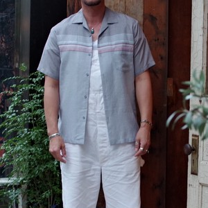 1980s Open Collar Shirt / 80年代 TRIUMPH 開襟シャツ Made in USA.