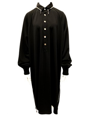Polo Jersey Onepiece (Black)