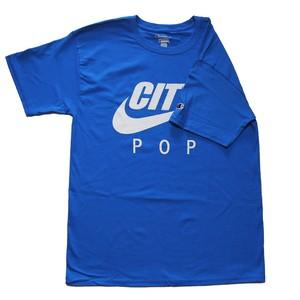 CITY POP Tシャツ ブルー