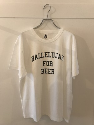 HALLELUJAH FOR BEER designed by Shuntaro Watanabe WHITE