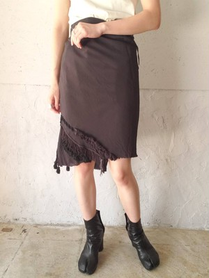 【used】TOGA ARCHIVES wrap skirt トーガ ラップスカート