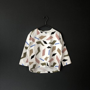 """arkakama """"COTTON SPD  L/S  LOOSE TEE"""" (Space Time) XL AKT00503 -CS※1点までメール便可"""