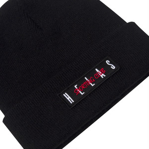 HELAS -SPORTING CLUB BEANIE / BLACK