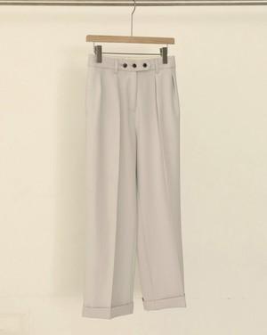 TODAYFUL トゥデイフル Twill Tuck Trousers アイスブルー 12010723