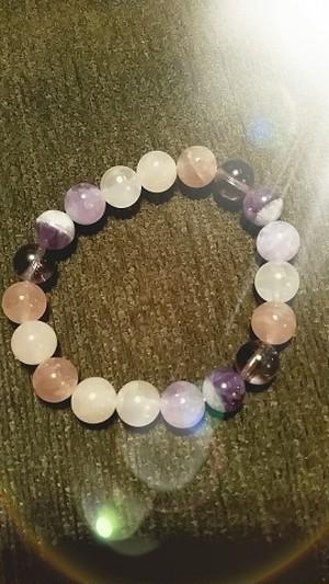 パワーストーンブレスレットPower Stone bracelet Rose Quartz