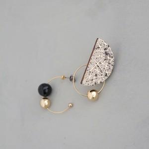 pierced earrings C-P26/earrings C-E26<gold>