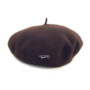 【残りわずか】JS ベレー帽/ブラウン