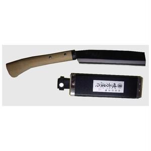 鞘鉈 180mm 片刃 鞘付 SN-180S