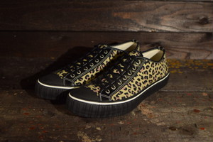"""AT-DIRTY(アットダーティ) / SNEAKER MODEL """"MILE"""" (LEOPARD) Type : LOW"""