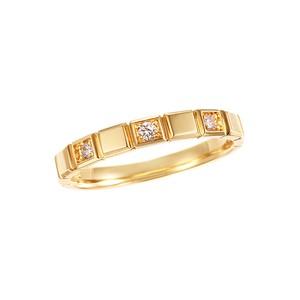 K18YGダイヤモンドリング 010201009251