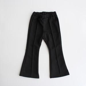 Flare Leggings Jersey Pants ブラック 5-13※メール便可