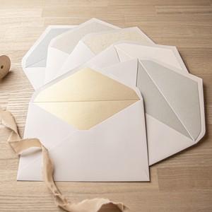 飾り紙6種 お試しセット(洋1封筒用)| 6枚