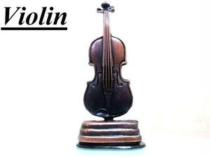 ヨーロッパアンティーク調オブジェ  バイオリン 模型