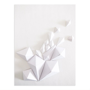PAPER DIAMOND CARD WITH ENVELOPE
