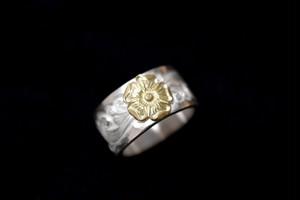 Love 18k rose karakusa ring 12mm