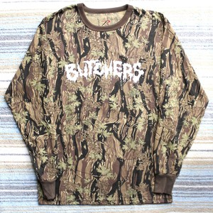 BUTCHERS logo Tee Brown