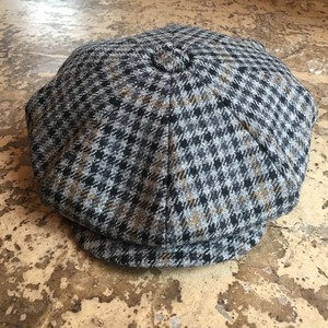 【James Lock&Co.Hatters】SANDWICH CASQUETTE[check]