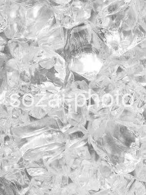 【D-parts_B_12】写真素材(背景写真セット 実写氷模型)
