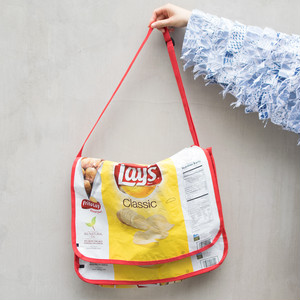"""Lay's"" Messenger Bag"