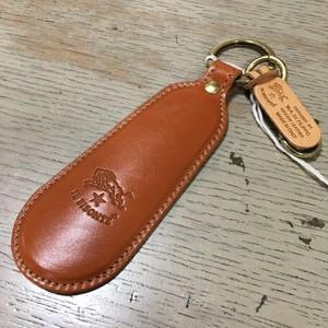 IL BISONTE イルビゾンテ レザー 靴ベらキーホルダー (Col ヤキヌメ)5422305150