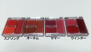 パーソナルカラーリップ(口紅)◆スプリング・サマー・オータム・ウィンター