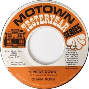 Diana Ross ‎– Upside Down / I'm Coming Up