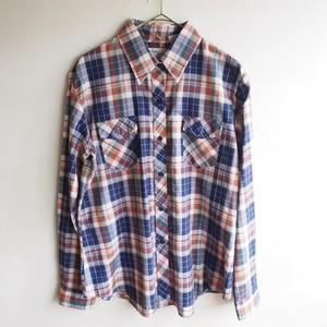 80s U.S.A. madras check shirt
