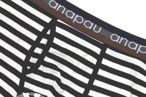 ボクサーパンツ ワイドボーダー 【anapau】