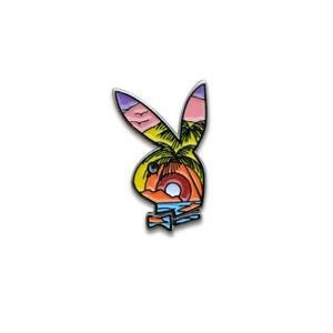 Paradise Bunny Pin