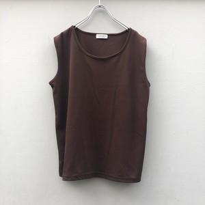 (PAL) glitter sleeve less shirt