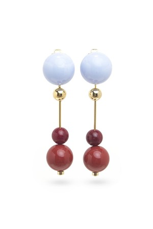 Candy Ball Earrings | Lt. BLUE