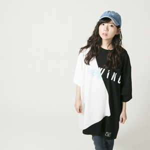 "Cross Cut Missing T-shirt ""A"""