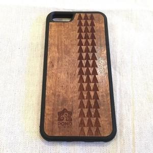 【 タパ トライバル 】ハワイ産 スマホカバー 【 Pono Woodworks 】 ハワイアン コアウッド  スマホケース
