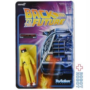 リアクション 3.75インチ バック・トゥ・ザ・フューチャー マーティ Radiation Suit アクションフィギュア