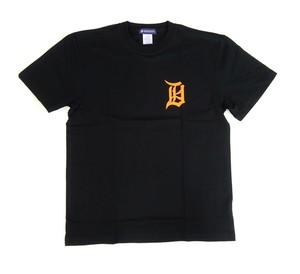 REPRESENT   Tシャツ 函  ブラック×オレンジ