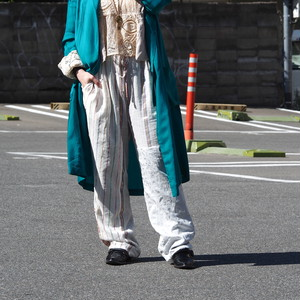 【ethical hippi】tapered pants / 【エシカル ヒッピ】テーパード パンツ