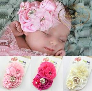 赤ちゃん ヘッドドレス 撮影 かわいい ビジュー 華やか お花 ベビー 髪飾り 頭飾り